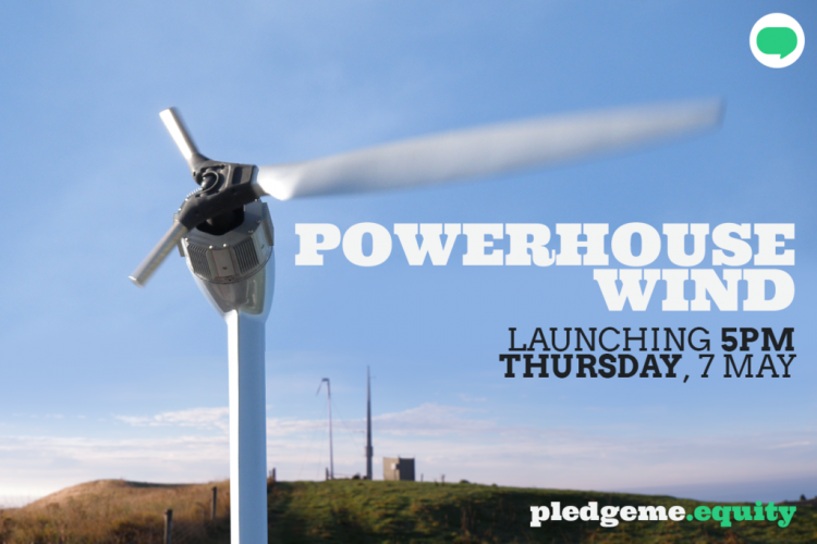 Powerhouse wind launch